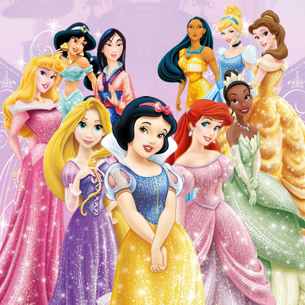 Disney Princesses Balloons